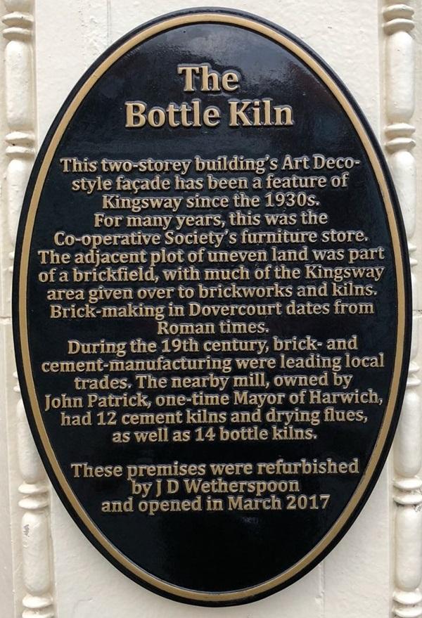 The Bottle Kiln Harwich J D Wetherspoon
