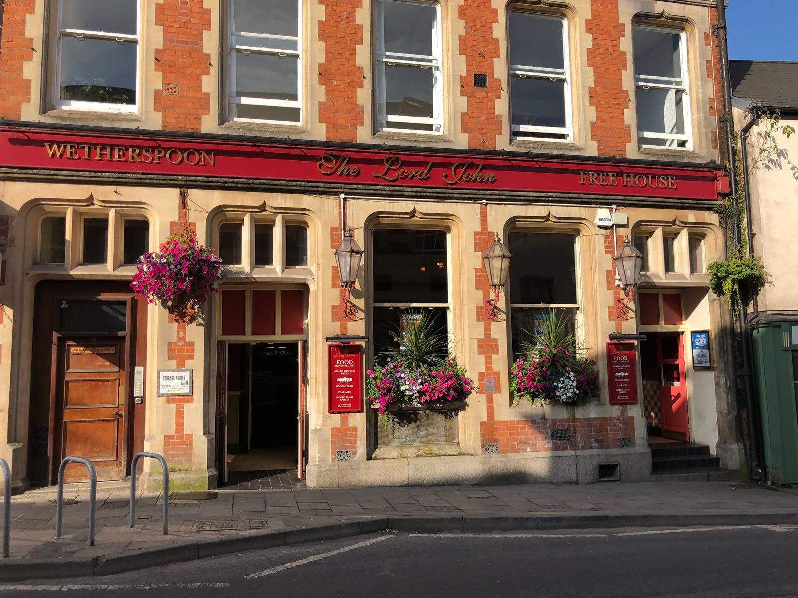 The Lord John Pubs In Stroud J D Wetherspoon