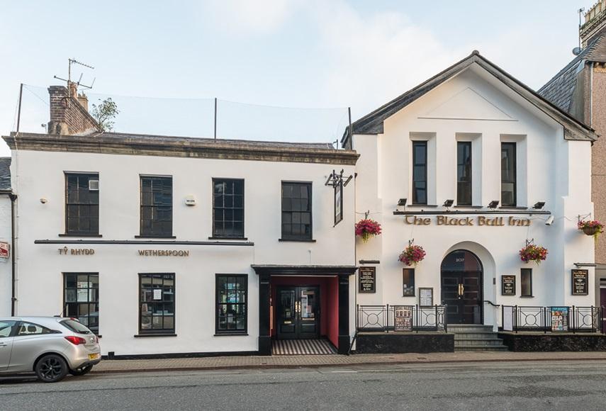 The Black Bull Inn Pubs In Bangor J D Wetherspoon