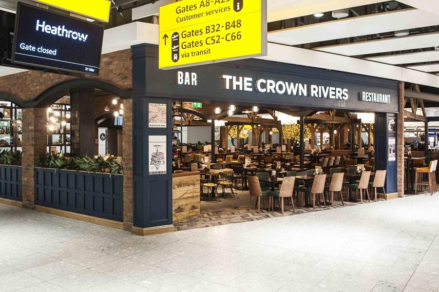 The Crown Rivers Pubs In Heathrow Airport J D Wetherspoon