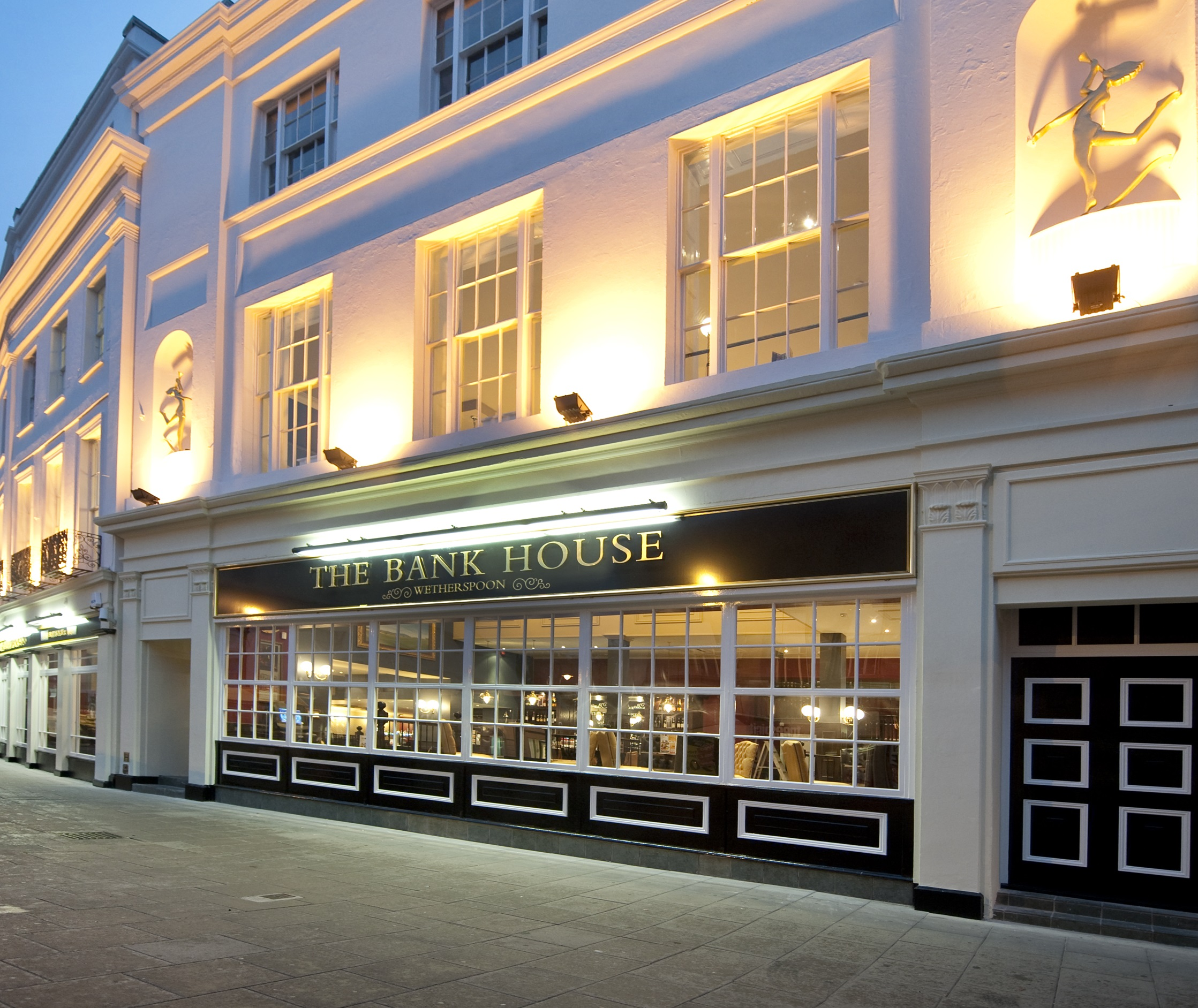 The Bank House Pubs In Cheltenham J D Wetherspoon